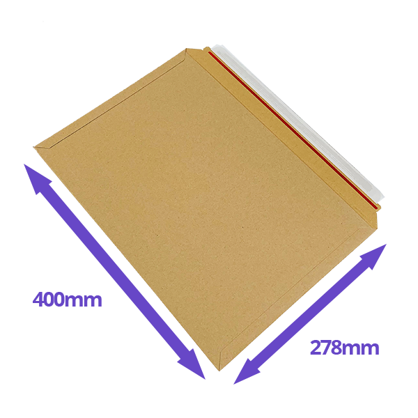 Capacity Book Mailers - 278x400mm