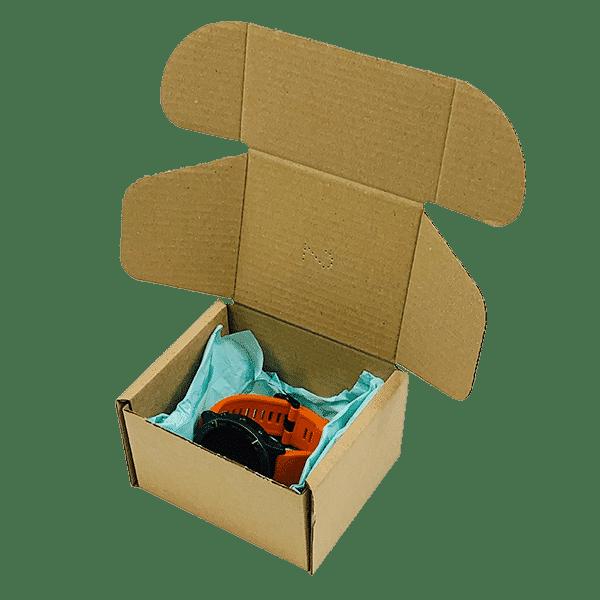 Brown PiP Small Parcel Postal Box - 110x100x70mm
