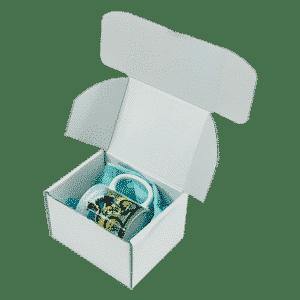 White PiP Small Parcel Postal Box - 152x127x95mm - Packs of 10, 25 & 50