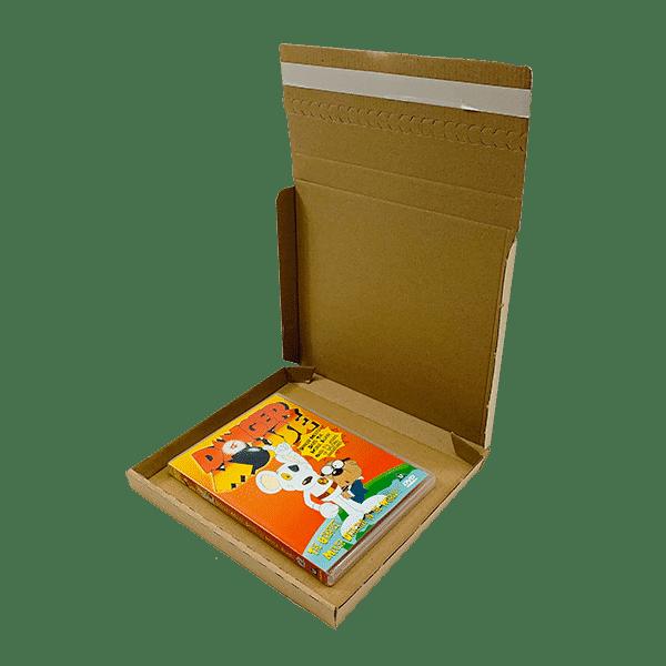Brown PiP Large Letter Postal Box - 220x190x19mm