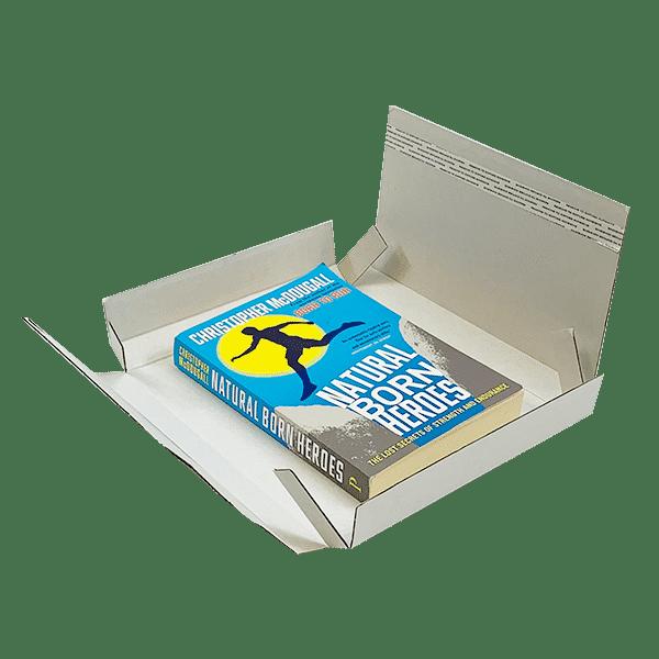 White PiP Large Letter Postal Box - 220x190x20mm