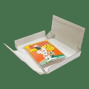 White PiP Large Letter Postal Box - 220x190x20mm - Packs of 10, 25 & 50