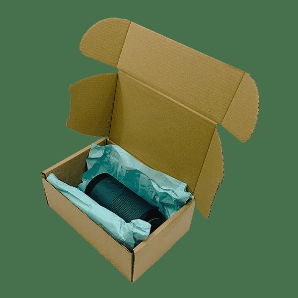 Brown PiP Small Parcel Postal Box - 222x150x88mm