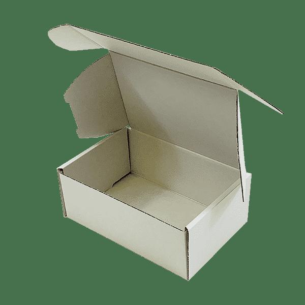 White PiP Small Parcel Postal Box - 222x150x88mm