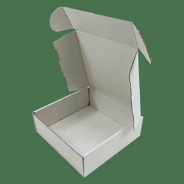 White PiP Small Parcel Postal Box - 240x240x80mm