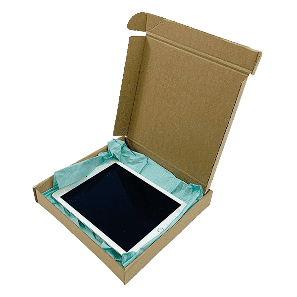 Brown PiP Small Parcel Postal Box - 240x240x40mm - Packs of 10, 25 & 50