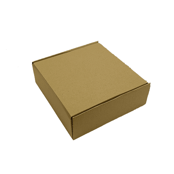 Brown PiP Small Parcel Postal Box - 240x240x80mm