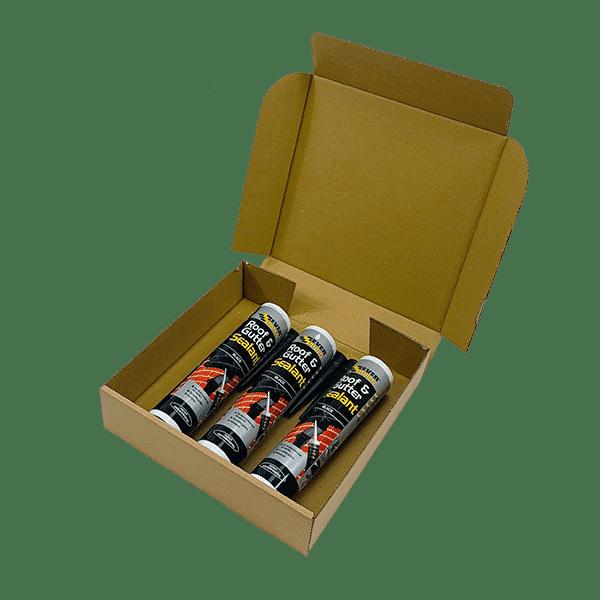 Brown PiP Small Parcel Cake Box - 254x254x63mm