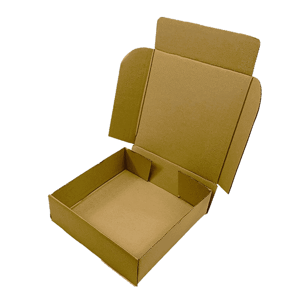 Brown PiP Small Parcel Cake Box - 254x254x76mm
