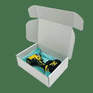 White PiP Small Parcel Postal Box - 290x208x95mm - Packs of 10, 25 & 50