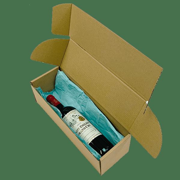 Brown PiP Small Parcel Postal Box - 340x110x110mm