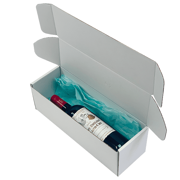 White PiP Small Parcel Postal Box - 340x110x110mm - Packs of 10, 25 & 50