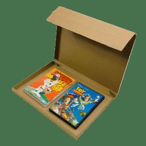Brown PiP Small Parcel Postal Box - 347x242x19mm