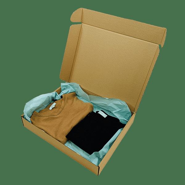 Brown PiP Small Parcel Postal Box - 426x342x74mm