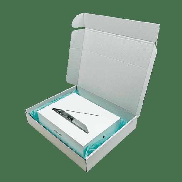 White PiP Small Parcel Postal Box - 426x342x74mm