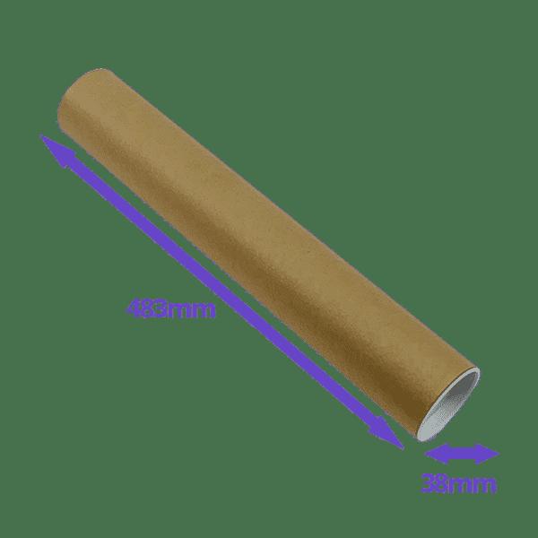 Postal Tubes - 483x38mm