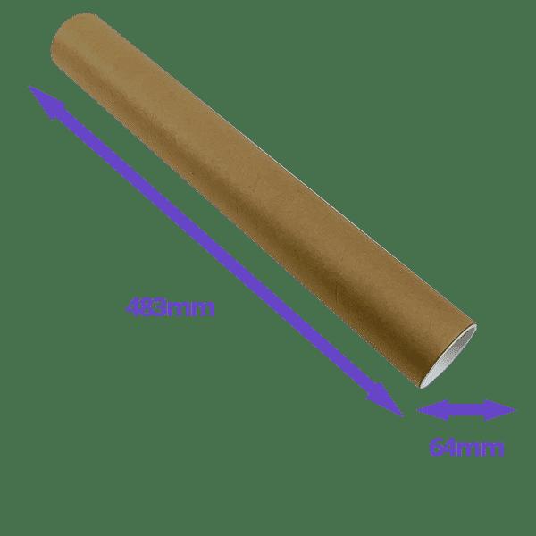 Postal Tubes - 483x64mm