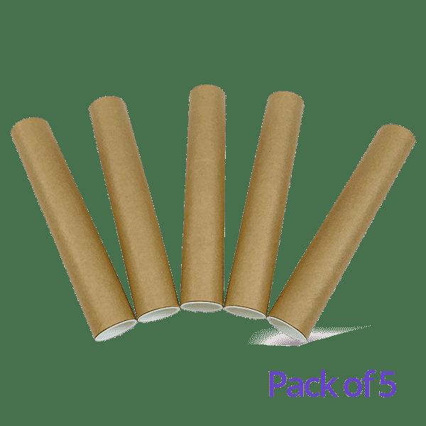 Postal Tubes - 240x38mm - Pack Of 5