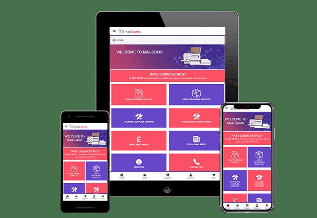 Mailcoms App