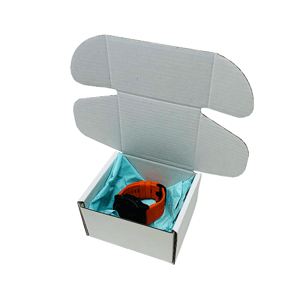 White PiP Small Parcel Postal Box - 110x100x70mm