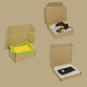 Brown Postal Cardboard Boxes