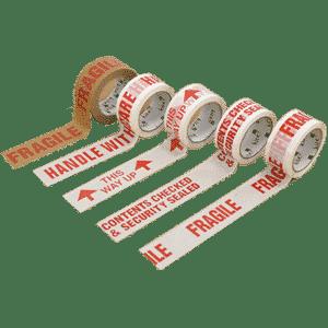 Standard Warning Printed Tapes