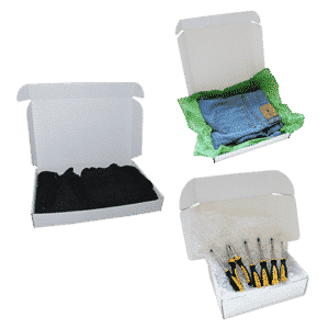White Postal Cardboard Boxes