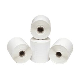 Pitney Bowes 45.7M Continuous Direct Thermal Labels - 4 Rolls