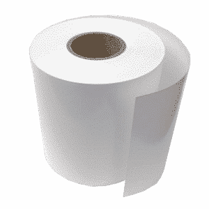 Mailcoms Mailsend+ 55M Continuous Direct Thermal Label Rolls - 1 Roll