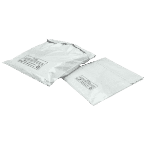 White Polythene Mailing Bags - 305x406mm - KEW3 - Pack Of 100