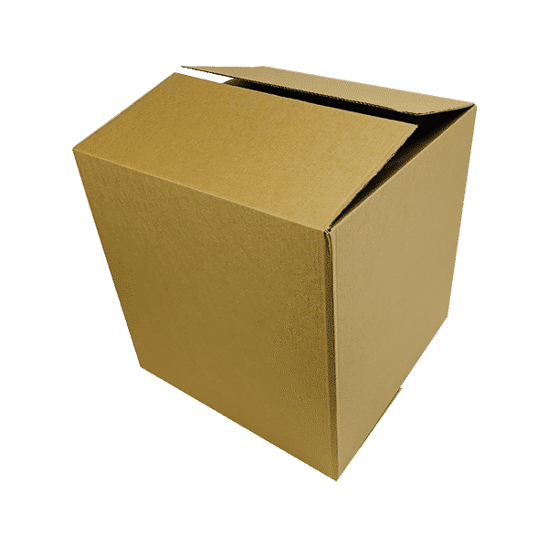 Single Wall Cardboard Boxes - 457x457x457mm