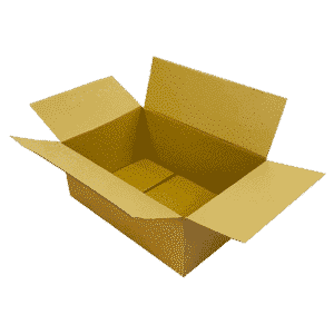 Single Wall Cardboard Boxes - 457x305x178mm
