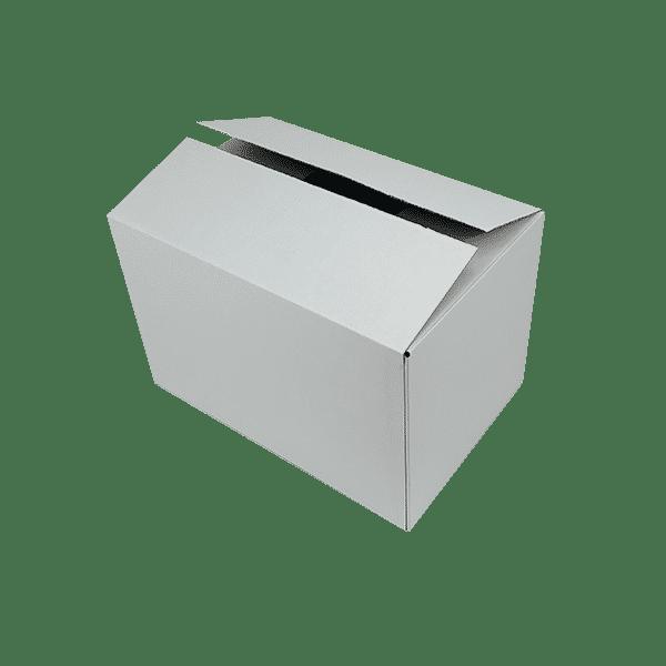 White Single Wall Cardboard Boxes - 457x305x305mm