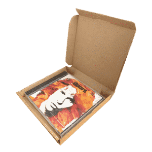 Brown PiP Large Letter Postal Box - 147x138x20mm
