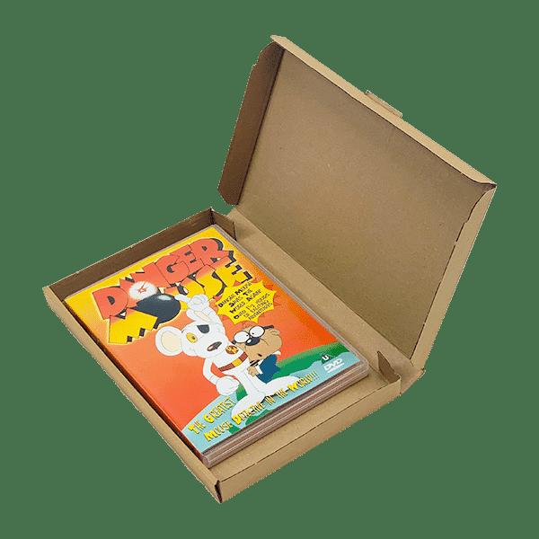 Brown PiP Large Letter Postal Box - 240x156x17mm
