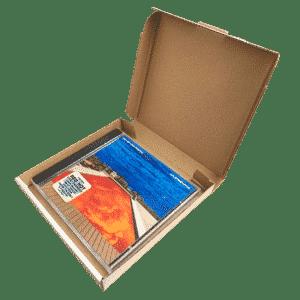 White PiP Large Letter Postal Box - 147x138x20mm - Packs of 10, 25 & 50