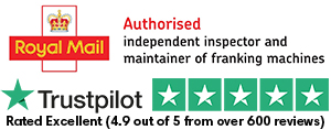 Royal Mail Authorised Independent Inspector & Maintainer Of Franking Machines & Trustpilot Score