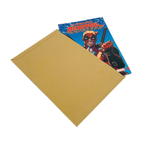 Capacity Book Mailers - Standard Solid Board - 194x292mm