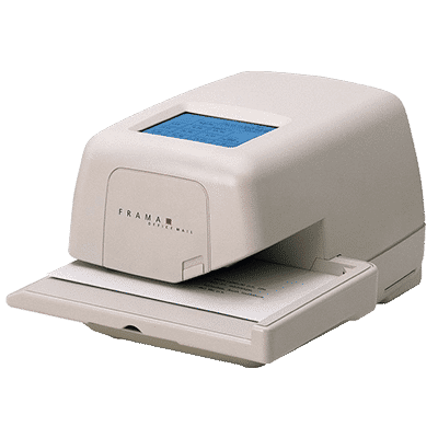Decertified Frama Officemail Franking Machines