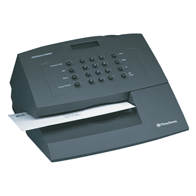 Decertified Pitney Bowes E700 / Personal Post Franking Machines