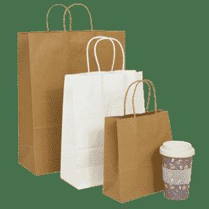Twist Handle Paper Carrier Bags