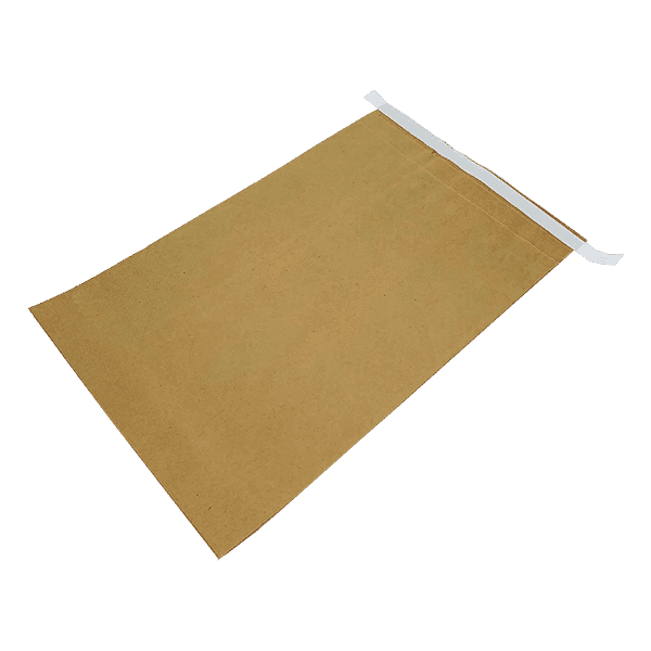Brown Heavy Duty (2 ply) Paper Mailing Bags - 330x100x485mm
