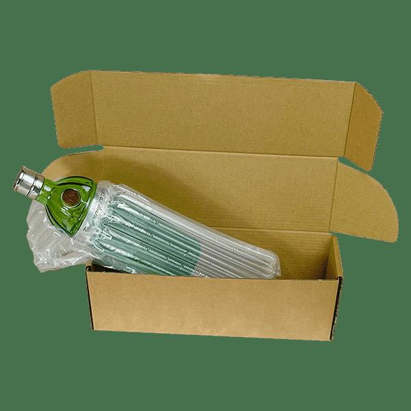 Single Bottle Air Packaging Kit - Example